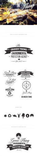 Environmental Logo Vector Templates