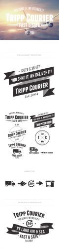 Transport Logo Vector Templates