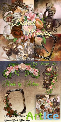 Scrap Set - Distant Memory PNG and JPG Files