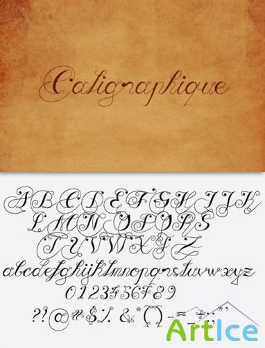Caligraphique Font Pack