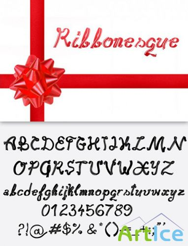 Ribbonesque Font Pack