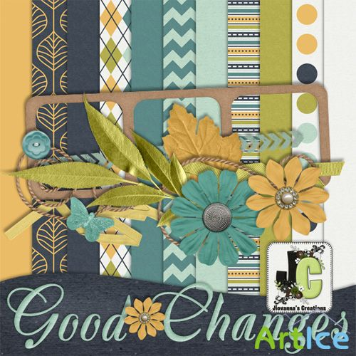 Scrap Kit - Good Changes PNG and JPG Files