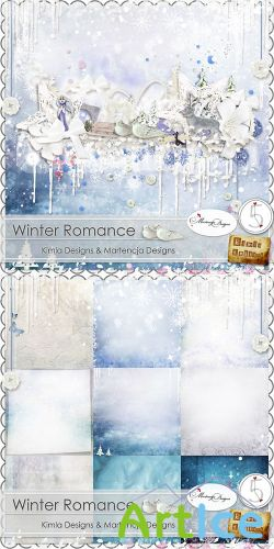Scrap - Winter Romance PNG and JPG Files