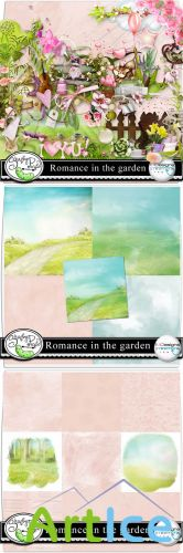 Scrap Kit - Romance in the Garden PNG and JPG Files