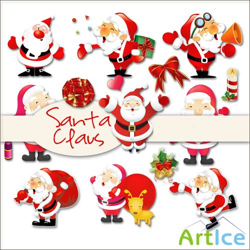Santa Claus PNG Files