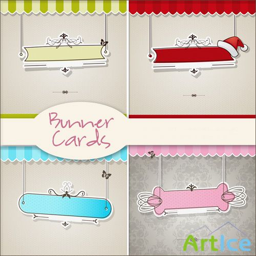 Bunner Cards PNG Files