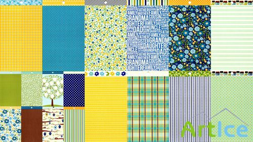 Textures Scrapbook Papers