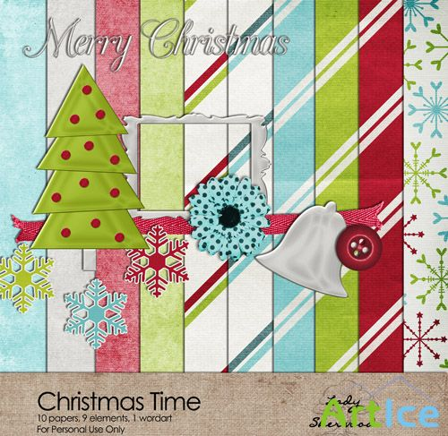 Christmas Time Set 7 PNG and JPG Files