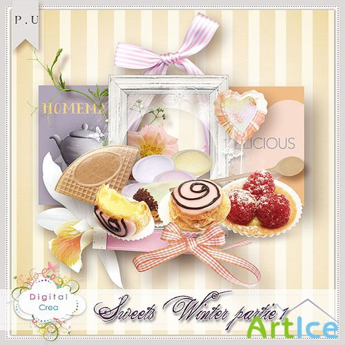 Sweets WInter PNG and JPG Files