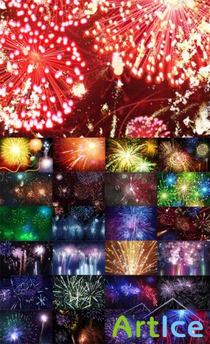 25 Fireworks Templates PSD Pack
