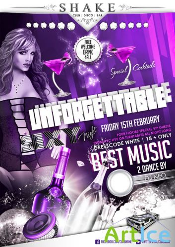 Unforgettable Flyer Template