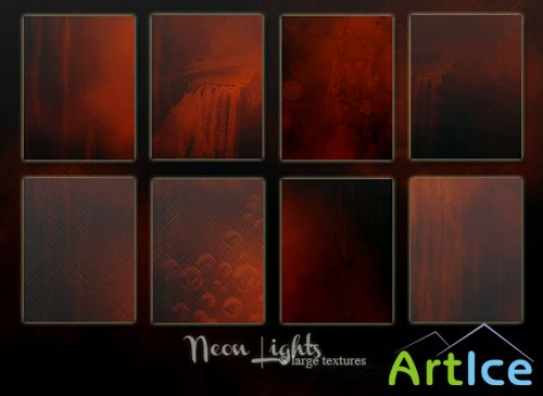 Neon Lights Textures PNG Files