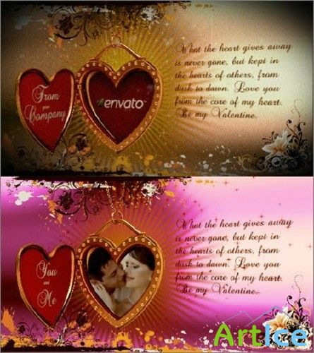 Valentine's Day Greetingr - Project for After Effects (Videohive)