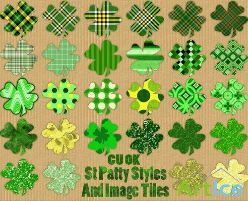 St Patty Styles PNG Files