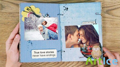 Love Story Album  - Project for After Effects (Videohive)