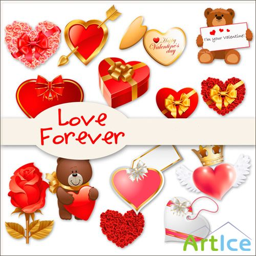 Love Forever PNG Files