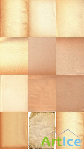High Res Old Parchment Paper Textures JPG Files