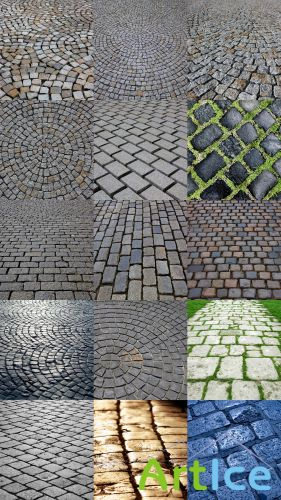 Collection of Textures Paving (HQ) JPG Files