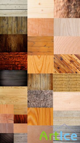 Wood Paneling and Parquet (Large Collection of Textures) JPG Files