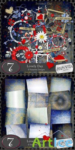 Lovely Day Scrap PNG and JPG Files