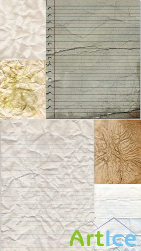 Vintage, Old, Clean and Paper Textures JPG Files