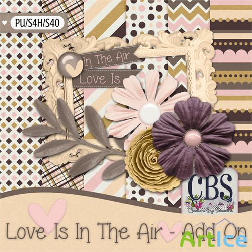 Scrap - Love Is In the Air PNG and JPG Files