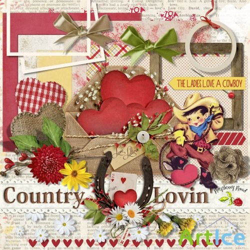 Scrap - Country Lovin' PNG and JPG Files