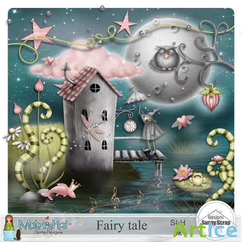 Scrap - Fairy Tale PNG and JPG FIles