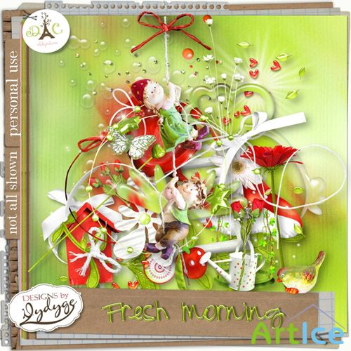 Scrap - Fresh Morning PNG and JPG Files
