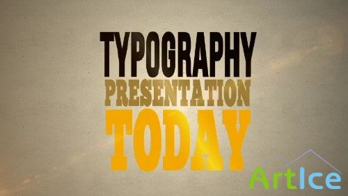 Typo-Graphical - Affter Effects Project