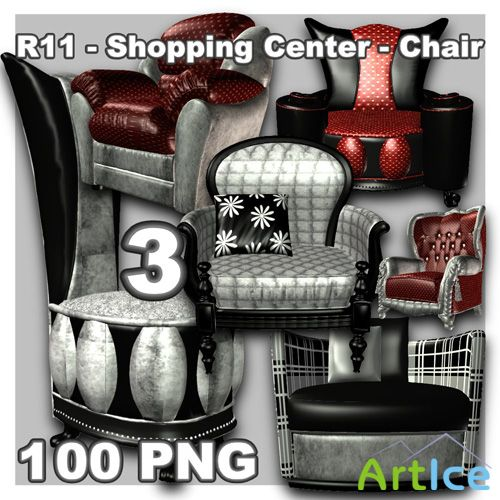 Shopping Center - Chair 3 PNG Files
