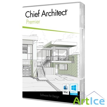 Chief Architect Premier X6 ( v.16.1.1.9, 2014, ENG )