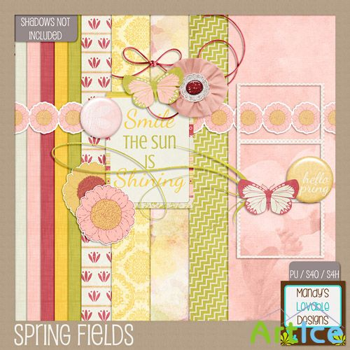 Scrap - Spring Fields PNG and JPG Files