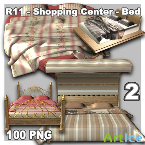 Shopping Center - Bed 2 PNG Files