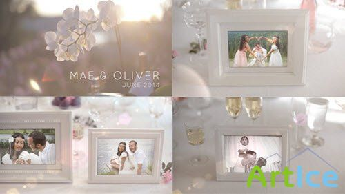 White Photo Gallery - Special Events - Project for After Effects (Videohive)