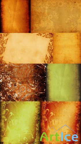 Vintage-Textures for Photoshop JPG Files