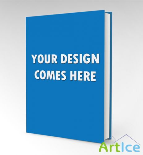 Book Mock-up Template PSD