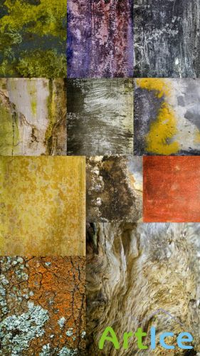 Grunge and Wood Textures JPG Files