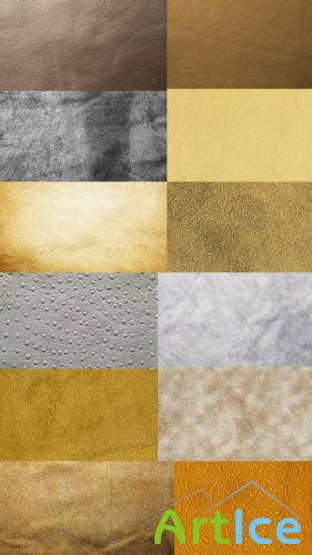 Bright Leather Textures JPG Files