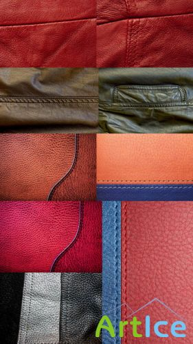 Leather Textures Set 2 JPG