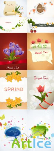 10 Spring Vector Illustrations Volume 2