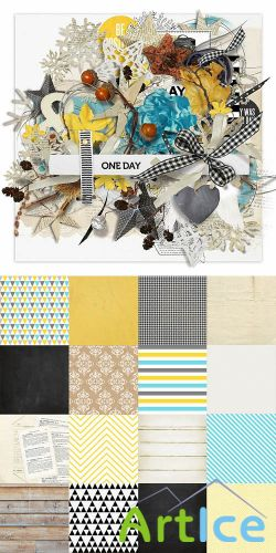 Scrap - One Day PNG and JPG Files