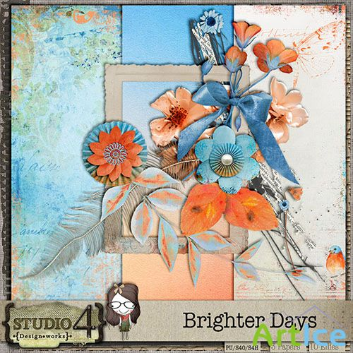 Scrap - Brighter Days PNG and JPG Files