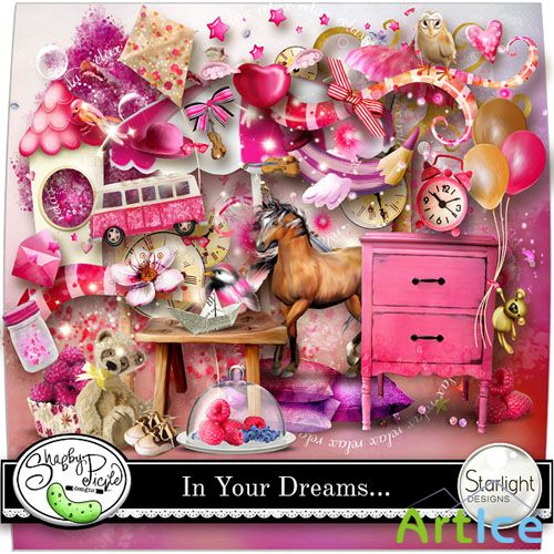 Scrap - In Your Dreams... PNG and JPG Files