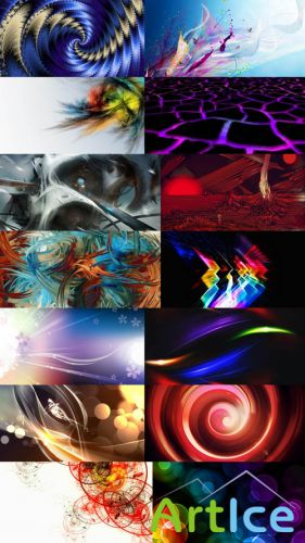 Collection of Abstract Wallpapers HQ Pack 1