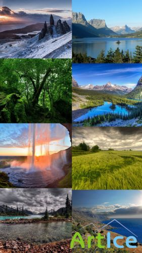 Beautiful Wallpapers of Nature Pack 1