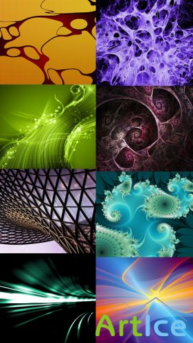 Collection of Abstract Wallpapers HQ Pack 2