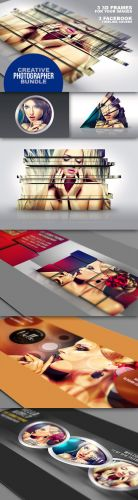 Creative Photographer's Bundle - PSD Template