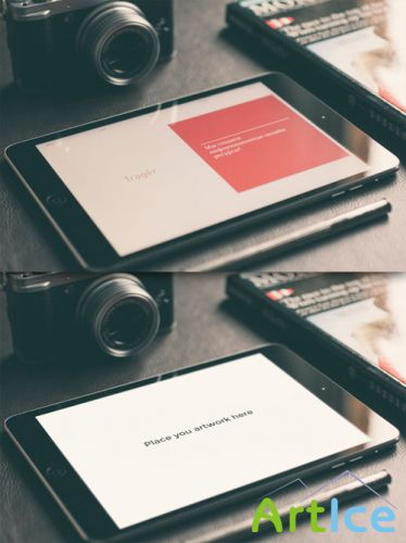 CreativeMarket - iPad Mini Retina Mock-up