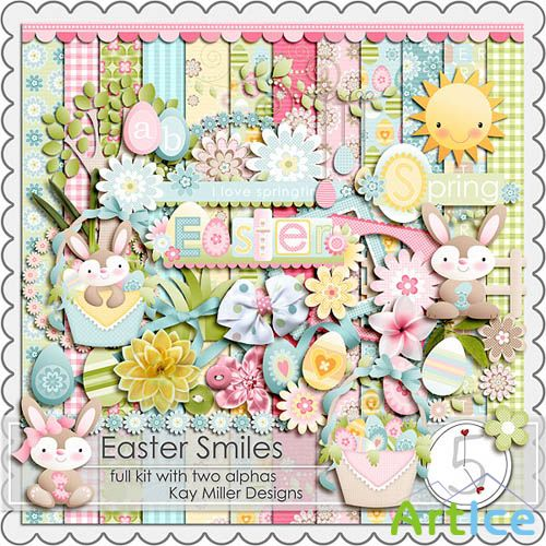 Scrap -  Easter Smiles PNG and JPG